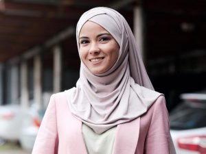 Bone Instant Georgette Hijab