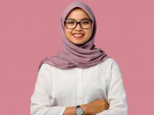 Carnation Pink Chiffon Hijab